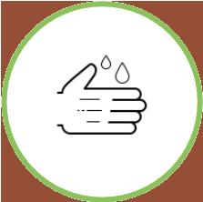 Pictogramme d'hygiène